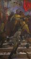The battle by Vasiliy Strigin