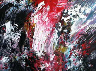 Triptych OF-45 Part. 3 Fragment 4 by Oleg Frolov