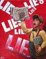 "LIES LIES LIES by Carlos Cenoz Bermejo ""Dino"""