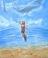 "FLYING WHALES by Carlos Cenoz Bermejo ""Dino"""