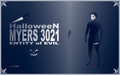 HalloweeN - MYERS 3021 - (Entity of evil) - banner (size 60 XL) - (INCREASED) by PACHI