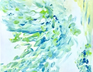Energy of Peacock Whisper by Stephanie Bishop