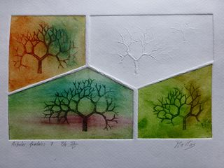Fractal trees 7 Author's test 3 of 5 by Rosario de Mattos