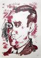 Hommage a Federico Garcia Lorca by Markus Lüpertz
