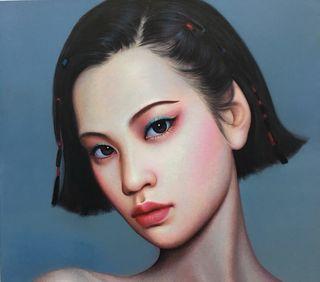 Beijing Girl 04 by Zhang Xiangming