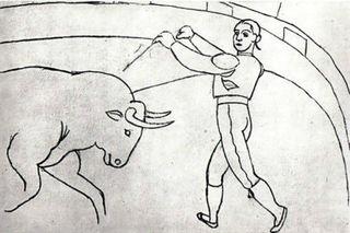 Courses de Taureaux by Pablo Picasso