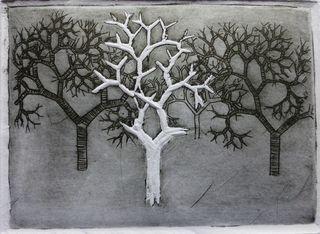 fractale Trees 6 by Rosario de Mattos