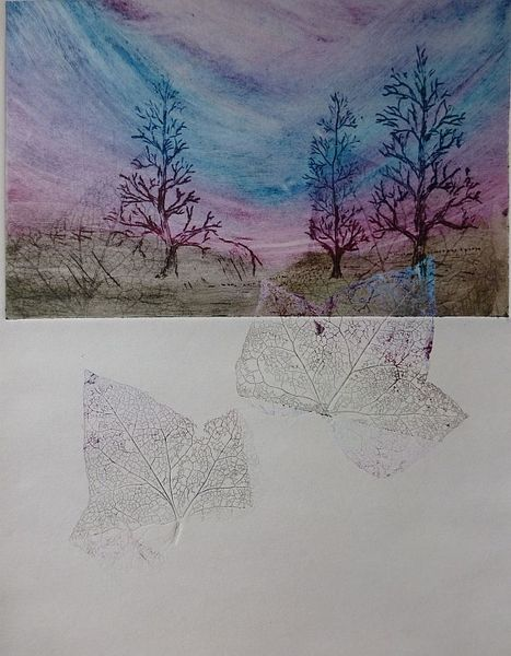 TREES AND LEAVES 3 by Rosario de Mattos