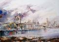 New York - Brooklyn bridge by Juan Félix Campos