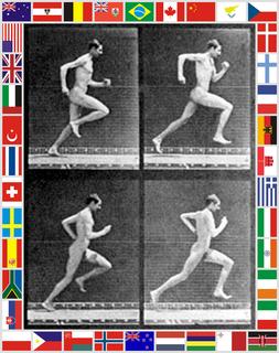 Running by Peter Blake