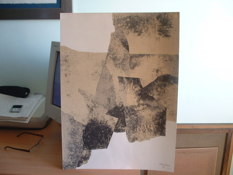Catalogued Original Art By Eduardo Chillida Picassomio