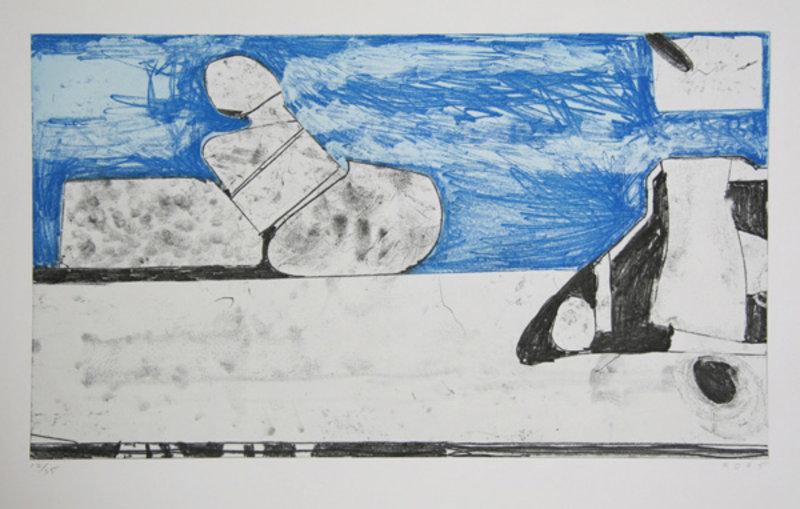 Blue by Richard Diebenkorn