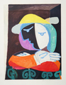 Femme au Balcon by Picasso Estate Collection