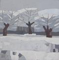 Paisaje nevado 2 by Julián Recio