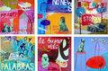 """""""Ale Hop"""", """"Memory"""", """"Palabras"""", """"No News"""", """"Bon Voyage"""" y  """"La buena vida"""" by María Burgaz"""
