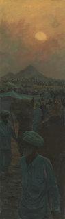 Man Leading His Camel, Pushkar by Pip Todd Warmoth