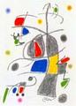 Maravillas con Variaciones Acrosticas en el jardin de Miro (Number 19) by Joan Miró
