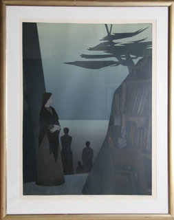 Way to the Sea by Will Barnet