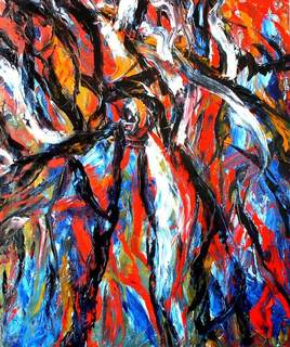 Abstract Painting OF-A16 by Oleg Frolov