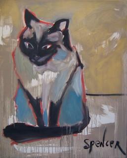 Siamese by Scott Andrew Spencer