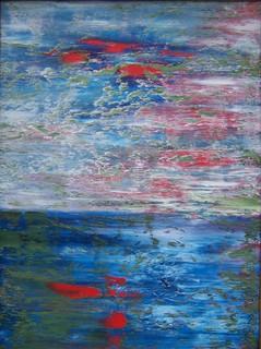 Red Pleasure Sunset by Scott Andrew Spencer