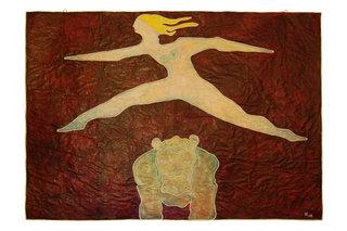 Donna che salta Ippo by Stefano Bianco