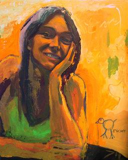 My sister by Daniel Sarciat