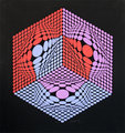 Composition Cinetique de Victor Vasarely