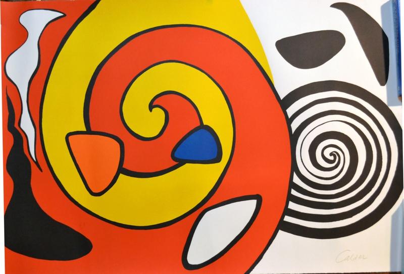 Litograf 237 A Quot Escargot Quot De Alexander Calder Original Art By