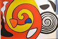 """Litografía """"Escargot"""" de Alexander Calder de Alexander Calder"""