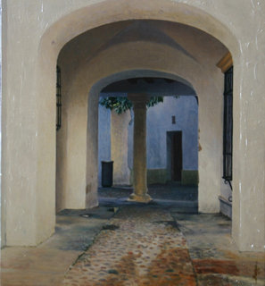 cordoba courtyard by Carlos Marijuan