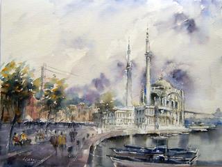 Istanbul- Ortaköy Mosque by Juan Félix Campos