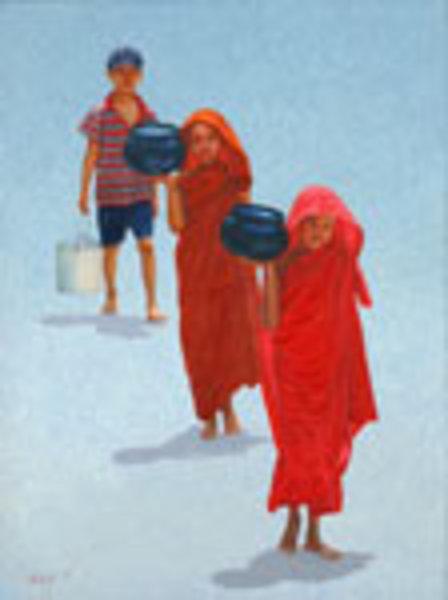 Little Helper (1) by Aung Kyaw Htet