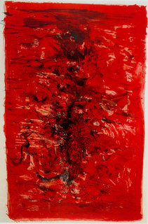 Lithograph, 1960 by Zao Woo Ki