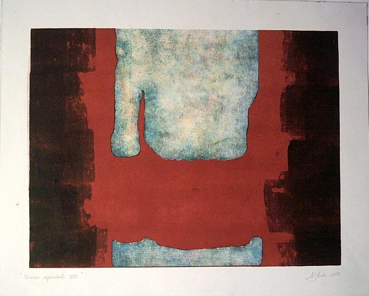 Spatial serie XVI by Nelly Arias