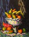 Bodegon con frutas by José Sanz Sala