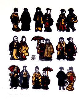 18 persons - Men&Women- by Sumio KAWAKAMI