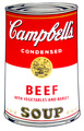 Campbell's Soup - Beef by Andy Warhol