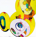 And then and then and then and then and then. Yellow universe by Takashi Murakami