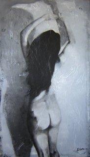 Back woman by raúl lara naranjo
