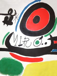 Tres libres by Joan Miró
