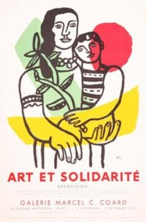 Art et Solidarite by Fernand Leger