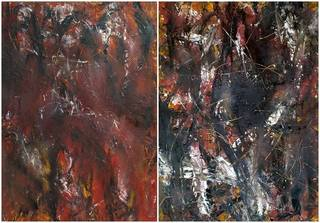 Diptych. OF-A282 by Oleg Frolov