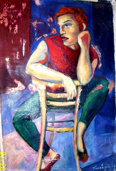 THE THINKER PICASSO by Raquel Sara Sarangello