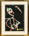 La Traca III (Fireworks III) by Joan Miró