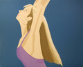 Night: William Dunas Dance 4 by Alex Katz