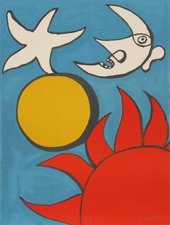 Potpourri en Ciel by Alexander Calder