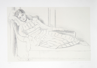 Olga Kaklowa by Picasso Estate Collection