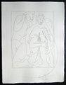 Polyxene , fille de Priam, est egorgee sur la tombe d'Achille by Pablo Picasso