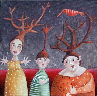 the forest of baobabs by Mariela Dimitrova MARA